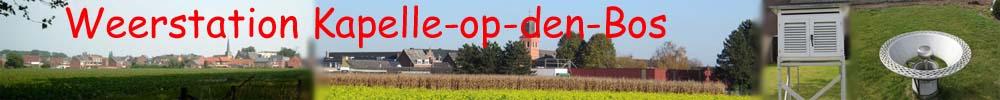 Weerstation Kapelle-op-den-Bos